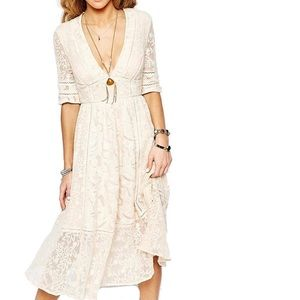 🌼 Free People Lace Dress 🌼